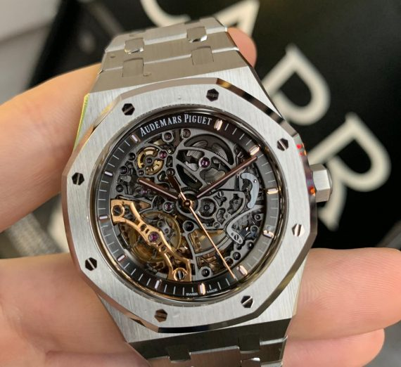 Audemars Piguet Royal Oak 15407ST Skeleton stainless steel 6