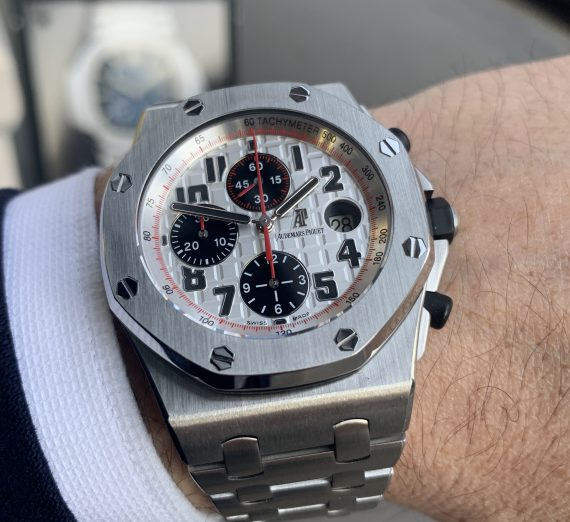 audemars piguet royal oak offshore Panda 26170ST.OO.1000ST.01 1