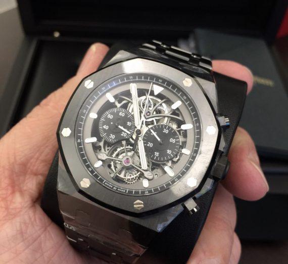 Audemars piguet Royal Oak tourbillon chronograph open worked #26343CE 1
