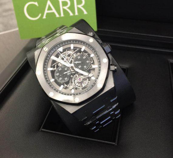 Audemars piguet Royal Oak tourbillon chronograph open worked #26343CE 2