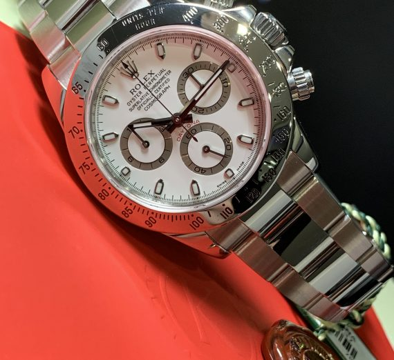 ROLEX DAYTONA 116520 WHITE DIAL APH STAINLESS STEEL 2