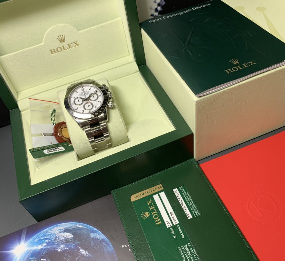 ROLEX DAYTONA 116520 WHITE DIAL APH STAINLESS STEEL 3