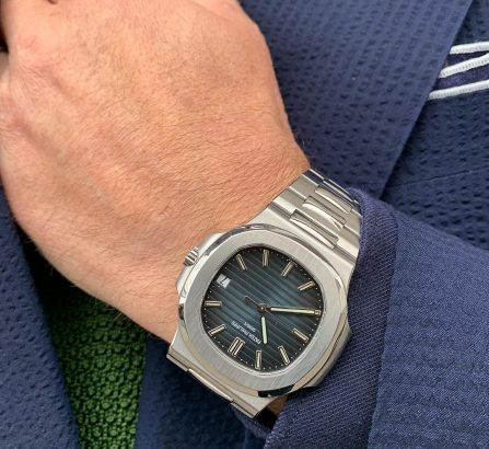 PATEK PHILIPPE NAUTILUS 5711/1A-010 IN STAINLESS STEEL BLUE DIAL