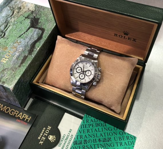 ROLEX 16520 COSMOGRAPH DAYTONA WITH A EL PRIMERO MOVEMENT BY ZENITH FROM 1997 10