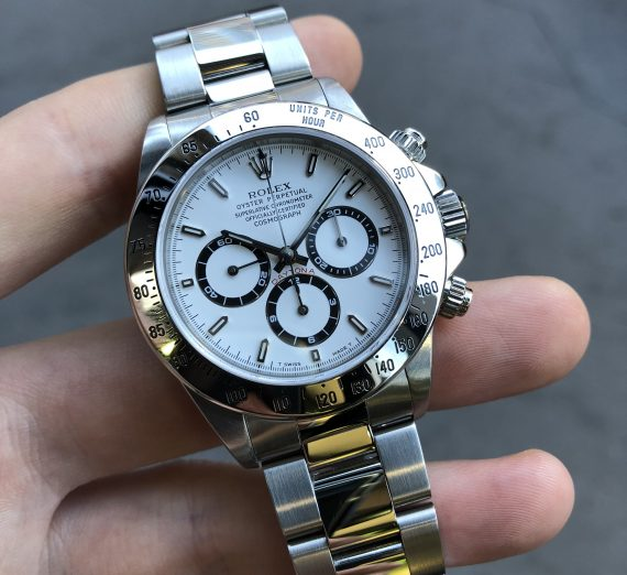 ROLEX 16520 COSMOGRAPH DAYTONA WITH A EL PRIMERO MOVEMENT BY ZENITH FROM 1997 6