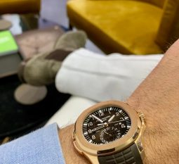 PATEK PHILIPPE AQUANAUT TRAVEL TIME 5164R-001
