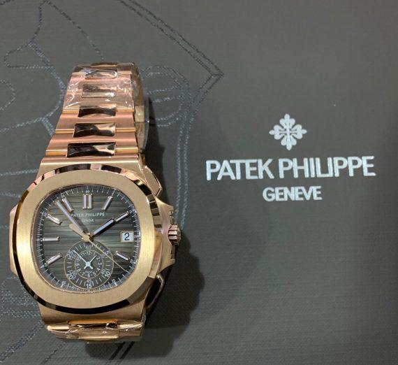 PATEK PHILIPPE NAUTILUS ROSE GOLD 5980/1R-001 11