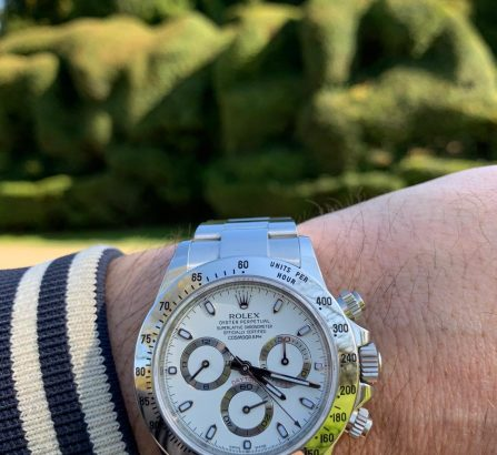 ROLEX COSMOGRAPH DAYTONA STAINLESS STEEL 116520