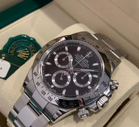 Rolex Cosmograph Daytona stainless steel 3