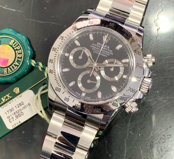 Rolex Cosmograph Daytona stainless steel