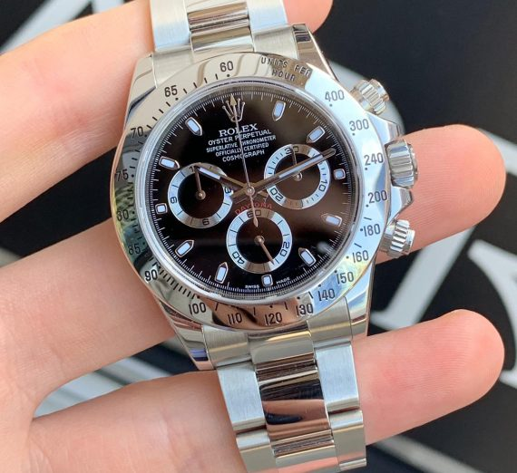 Rolex Cosmograph Daytona stainless steel 7
