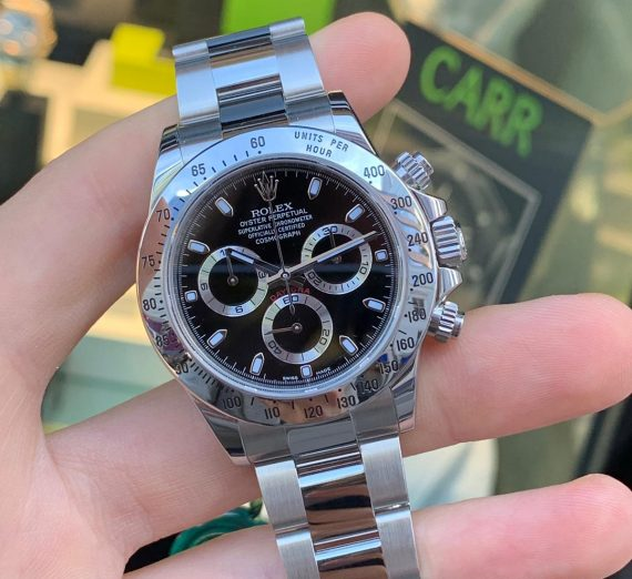 Rolex Cosmograph Daytona stainless steel 8