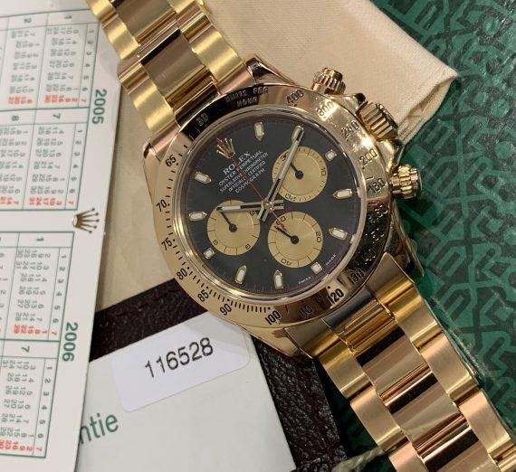 ROLEX DAYTONA YELLOW GOLD 116528 PAUL NEWMAN 1