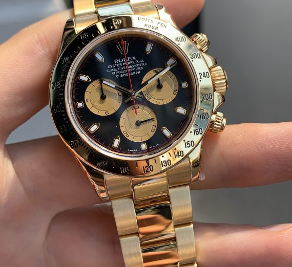 ROLEX DAYTONA YELLOW GOLD 116528 PAUL NEWMAN 4