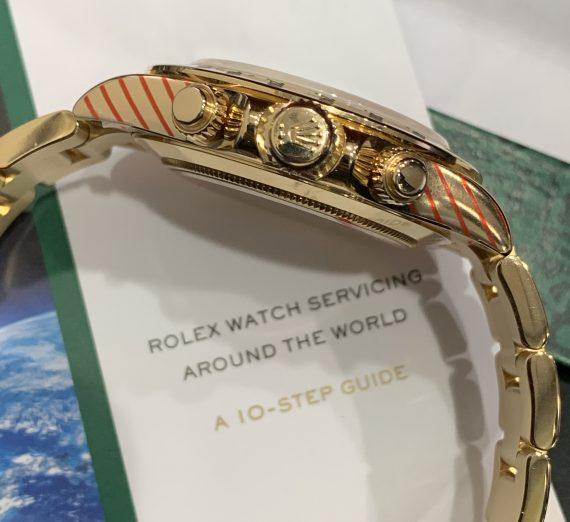 ROLEX DAYTONA YELLOW GOLD 116528 PAUL NEWMAN 8