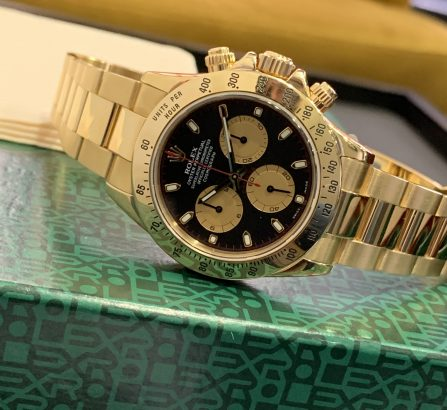 ROLEX DAYTONA YELLOW GOLD 116528 PAUL NEWMAN
