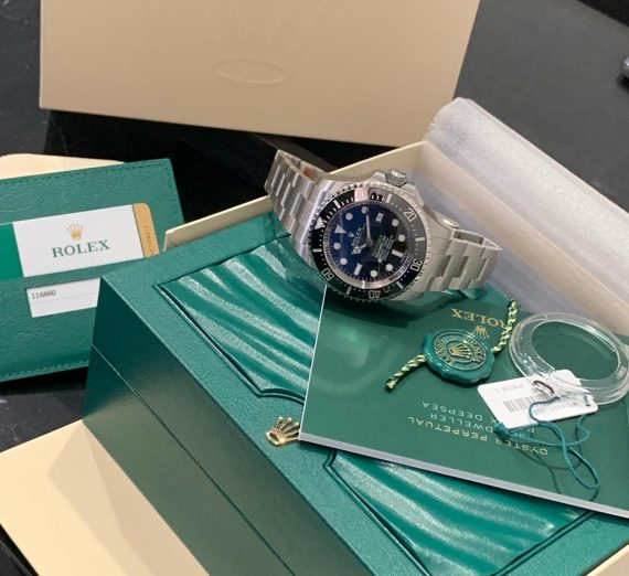 ROLEX SEA DWELLER DEEPSEA JAMES CAMERON 126660 10