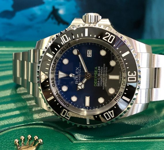 ROLEX SEA DWELLER DEEPSEA JAMES CAMERON 126660