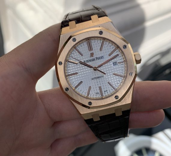 AUDEMARS PIGUET ROYAL OAK ROSE GOLD 15400OR.OO.D088CR.01 3