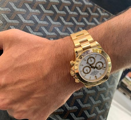ROLEX DAYTONA COSMOGRAPH 116508 18CT YELLOW GOLD