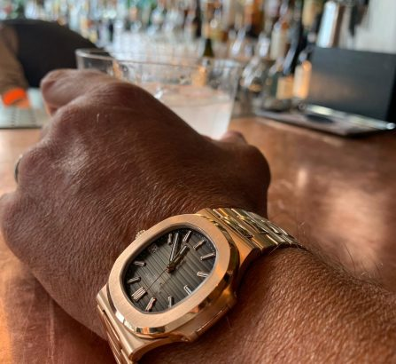 PATEK PHILIPPE 18CT ROSE GOLD 5711R