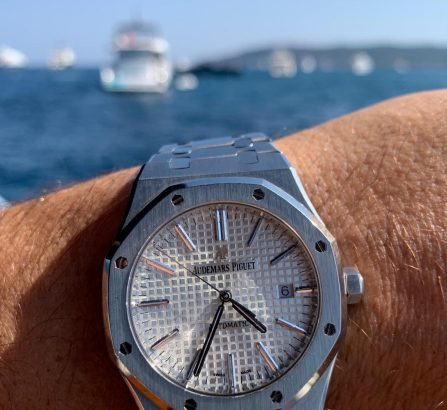 AUDEMARS PIGUET ROYAL OAK 41MM 15400ST.OO.1220ST.02