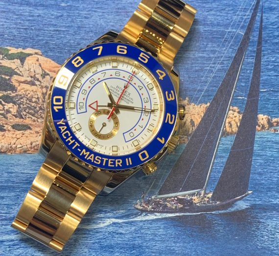 ROLEX YACHT-MASTER II 116688 18ct YELLOW GOLD 2