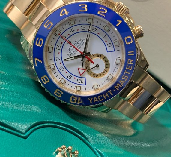 ROLEX YACHT-MASTER II 116688 18ct YELLOW GOLD 3