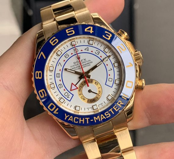 ROLEX YACHT-MASTER II 116688 18ct YELLOW GOLD 4
