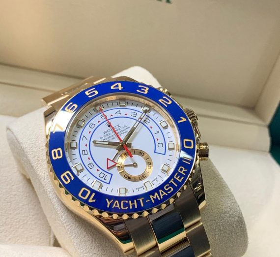 ROLEX YACHT-MASTER II 116688 18ct YELLOW GOLD