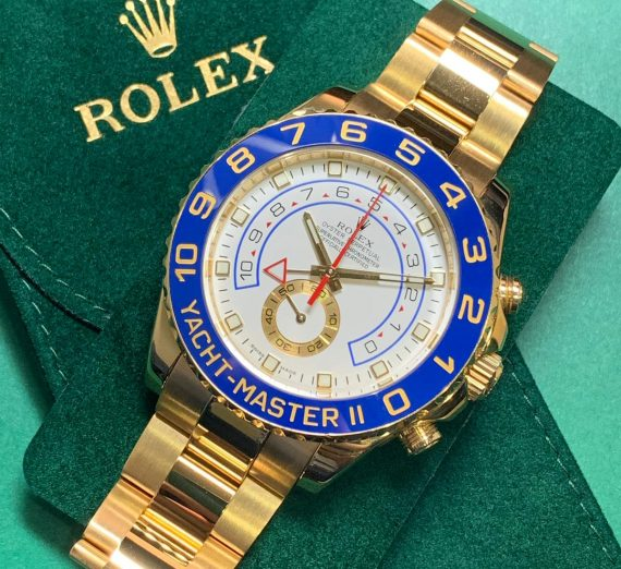 ROLEX YACHT-MASTER II 116688 18ct YELLOW GOLD 5
