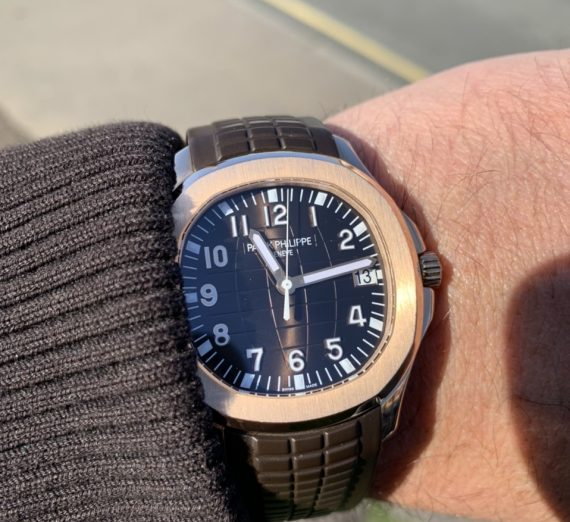 PATEK PHILIPPE ROSE GOLD AQUANAUT 5167R-001 6