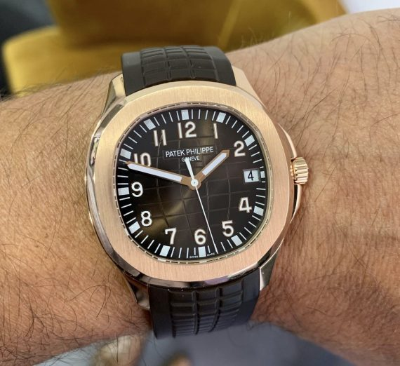 PATEK PHILIPPE ROSE GOLD AQUANAUT 5167R-001 1