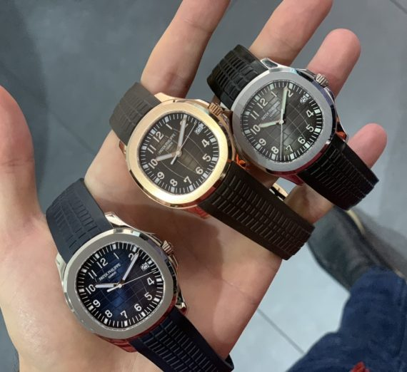 PATEK PHILIPPE ROSE GOLD AQUANAUT 5167R-001 11