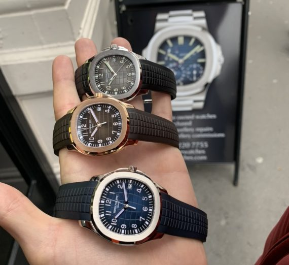 PATEK PHILIPPE ROSE GOLD AQUANAUT 5167R-001 12