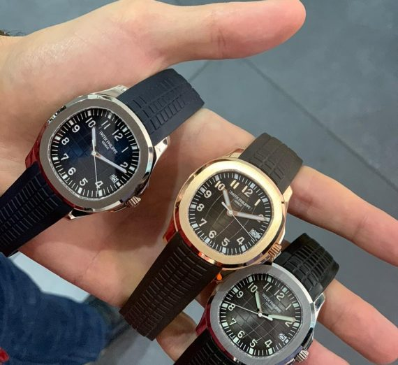 PATEK PHILIPPE ROSE GOLD AQUANAUT 5167R-001 14