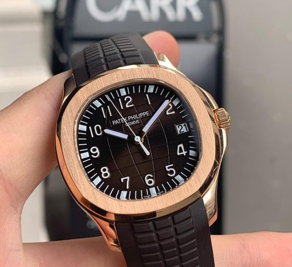 PATEK PHILIPPE ROSE GOLD AQUANAUT 5167R-001 15