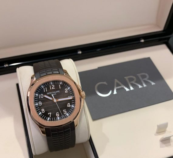 PATEK PHILIPPE ROSE GOLD AQUANAUT 5167R-001 3