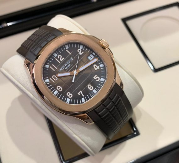 PATEK PHILIPPE ROSE GOLD AQUANAUT 5167R-001 4