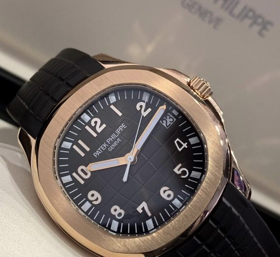 PATEK PHILIPPE ROSE GOLD AQUANAUT 5167R-001