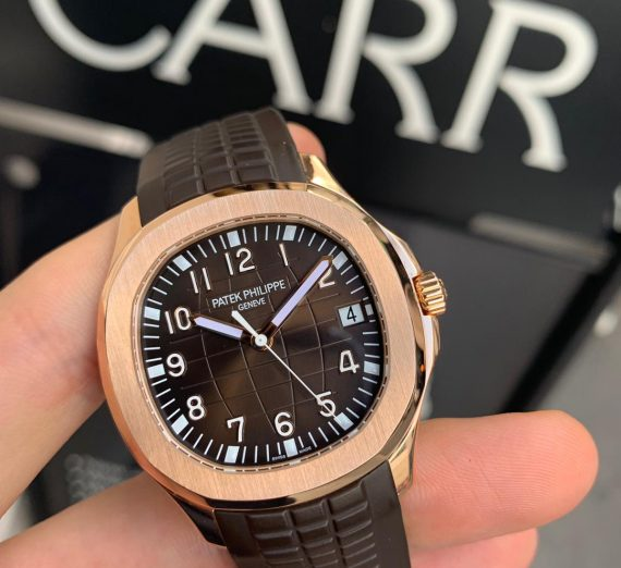 PATEK PHILIPPE ROSE GOLD AQUANAUT 5167R-001 5