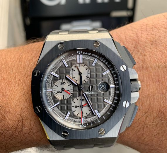 AUDEMARS PIGUET ROYAL OAK SELFWINDING CHRONOGRAPH #26400IO.