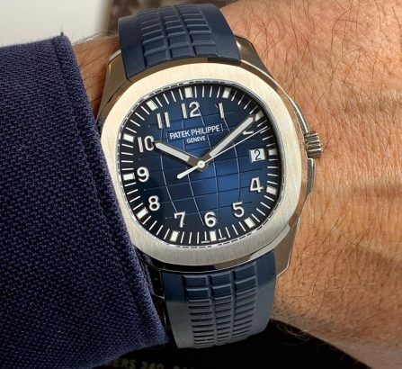 PATEK PHILIPPE WHITE GOLD AQUANAUT 5168G-001