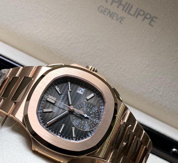 PATEK PHILIPPE NAUTILUS ROSE GOLD 5980/1R-001 10