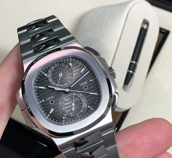 PATEK PHILIPPE NAUTILUS WORLD TIME FROM 2017 MODEL 5990 5