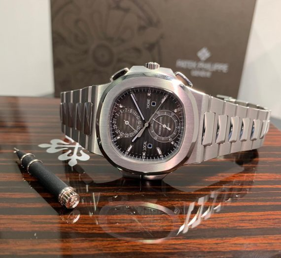PATEK PHILIPPE NAUTILUS WORLD TIME FROM 2017 MODEL 5990