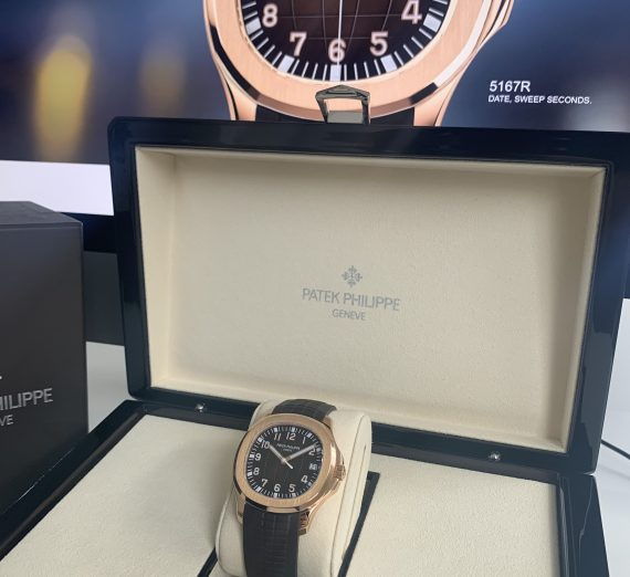 PATEK PHILIPPE ROSE GOLD AQUANAUT 5167R - 001 5