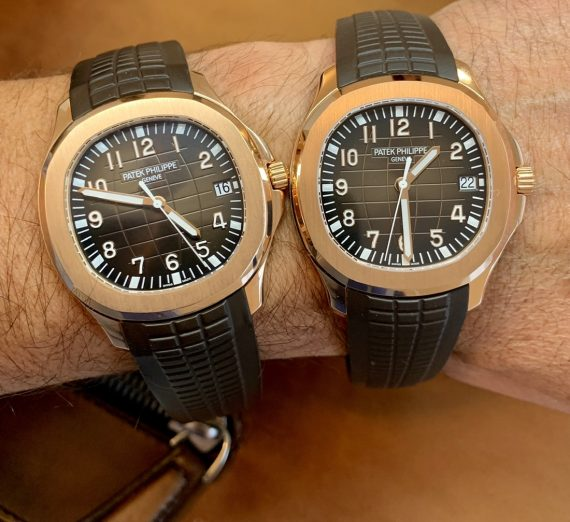 PATEK PHILIPPE ROSE GOLD AQUANAUT 5167R - 001 10