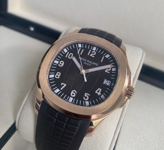 PATEK PHILIPPE ROSE GOLD AQUANAUT 5167R - 001