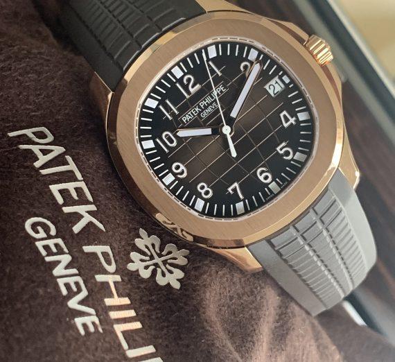 PATEK PHILIPPE ROSE GOLD AQUANAUT 5167R - 001 2
